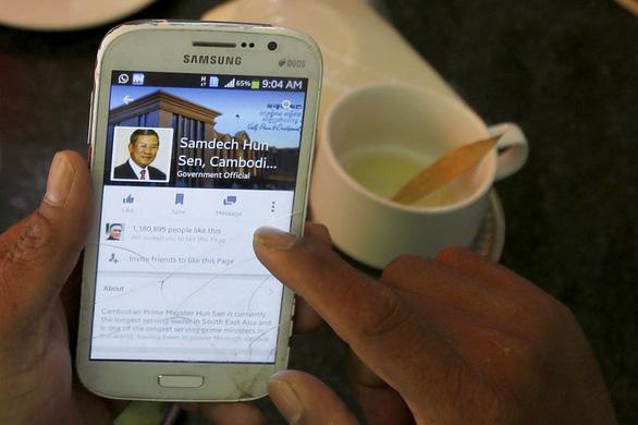 Campuchia áp dụng cách kiểm soát Internet kiểu Trung Quốc - Ảnh 1.