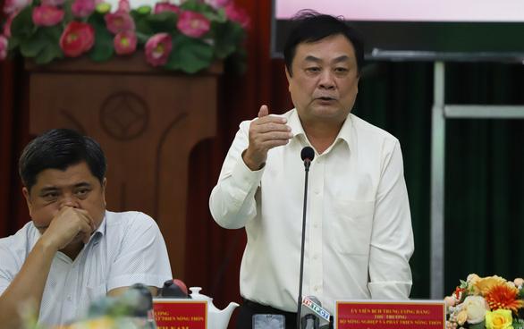 Thứ trưởng Lê Minh Hoan đề nghị lập nhóm nông nghiệp 13 tỉnh thành miền Tây - Ảnh 1.