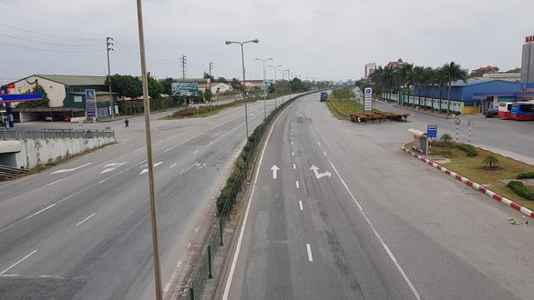 Chỉ cho xe phục vụ chống dịch COVID-19 đi trên quốc lộ 5 qua Hải Dương - Ảnh 1.