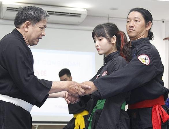 Công nhận Võ lâm Tân Khánh Bà Trà là di sản văn hóa phi vật thể quốc gia - Ảnh 3.