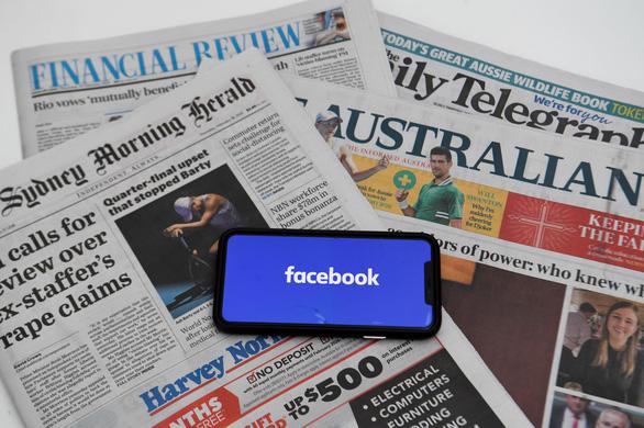 Facebook hủy kết bạn với báo chí Úc - Ảnh 1.