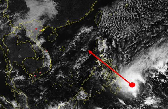 Biển Đông có thể đón bão trong 3 ngày tới - Ảnh 1.