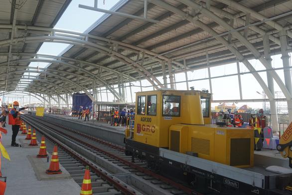 Kiến nghị sớm ký phụ lục hợp đồng 19 để tiếp tục đào tạo lái tàu metro số 1 - Ảnh 1.