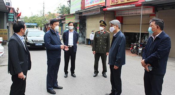 Bí thư Hải Dương phê bình lãnh đạo huyện Kim Thành chưa sâu sát dập dịch - Ảnh 1.