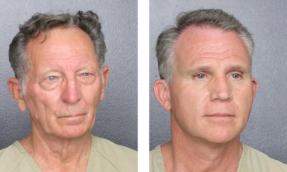 Bắt 2 người đàn ông giả làm cảnh sát để từ chối đeo khẩu trang phòng dịch - Ảnh 1.