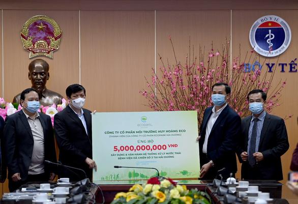 Ecopark ủng hộ 13 tỉ đồng cho phòng chống dịch COVID-19 - Ảnh 3.