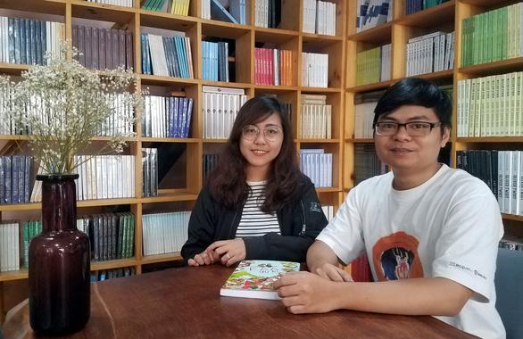Gặp vợ chồng họa sĩ 9X vẽ chân dung Xuân Quỳnh cho Google - Ảnh 1.