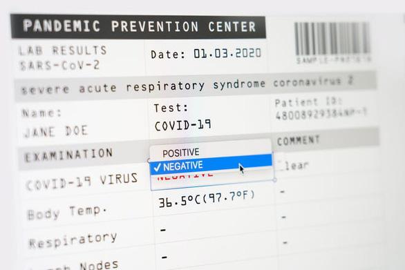 Giấy chứng nhận âm tính COVID-19 giả tung giá bao nhiêu? - Ảnh 1.
