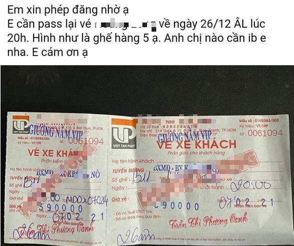 Dân mạng nháo nhác pass vé xe khách, rủ nhau về quê ăn tết bằng xe máy - Ảnh 1.