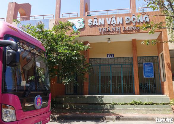Chủ tịch CLB Sài Gòn khảo sát Trung tâm Thành Long để chuẩn bị cải tạo - Ảnh 3.