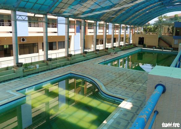 Chủ tịch CLB Sài Gòn khảo sát Trung tâm Thành Long để chuẩn bị cải tạo - Ảnh 4.