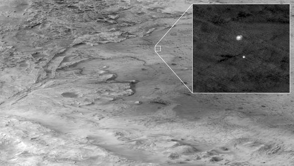 NASA công bố ảnh màu ấn tượng trên sao Hỏa do tàu Perseverance chụp - Ảnh 5.