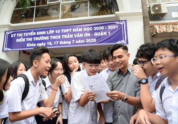 TP.HCM: Học trực tuyến không ảnh hưởng thi tuyển lớp 10 - Ảnh 1.