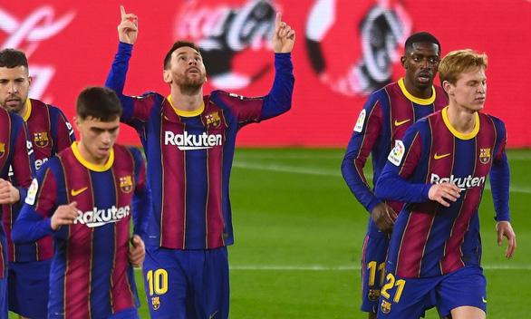 Barca bị đội yếu cầm chân trên sân nhà - Ảnh 1.