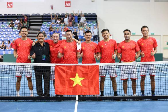 Việt Nam đăng cai Davis Cup nhóm III khu vực châu Á-Thái Bình Dương - Ảnh 1.
