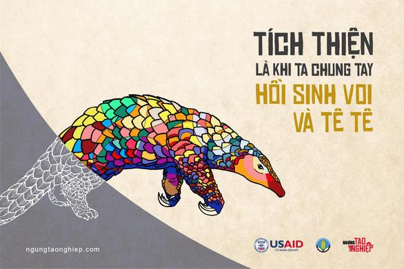 Hành động ngay trước khi voi, tê tê chỉ còn là một ký ức - Ảnh 3.