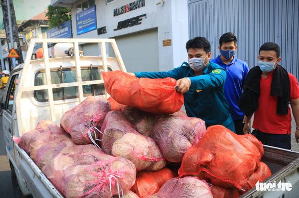 Người trẻ Sài Gòn thuê xe ra tận Hải Dương mua bắp cải về bán giá... 0 đồng - Ảnh 5.