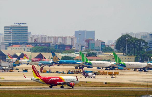 Tỷ lệ đúng giờ của hàng không Việt trên 90% trong tháng Tết - Ảnh 1.