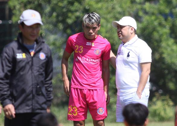 CLB Sài Gòn công bố HLV người Nhật, đưa 2 cầu thủ Đông du - Ảnh 3.