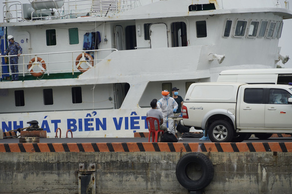 Thủy thủ tàu Indonesia tử vong, Bà Rịa - Vũng Tàu xét nghiệm thấy 5 người dương tính COVID-19 - Ảnh 1.