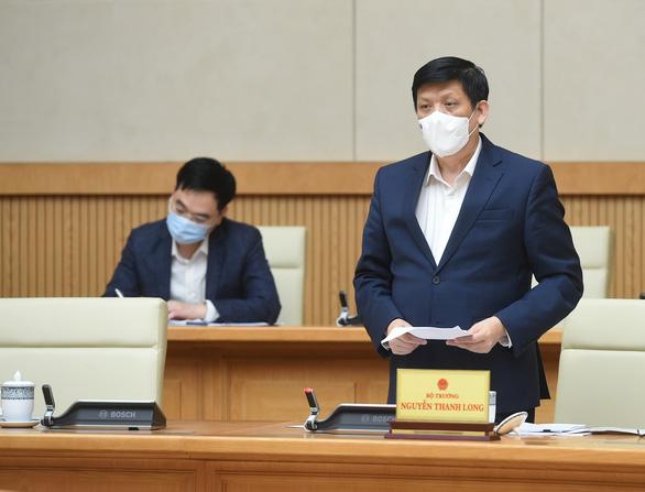 Bộ trưởng Nguyễn Thanh Long: Năm 2021 đảm bảo không thiếu vắc xin - Ảnh 1.