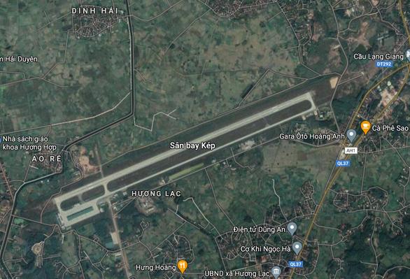 Bắc Giang xin chuyển sân bay quân sự Kép thành sân bay lưỡng dụng - Ảnh 1.