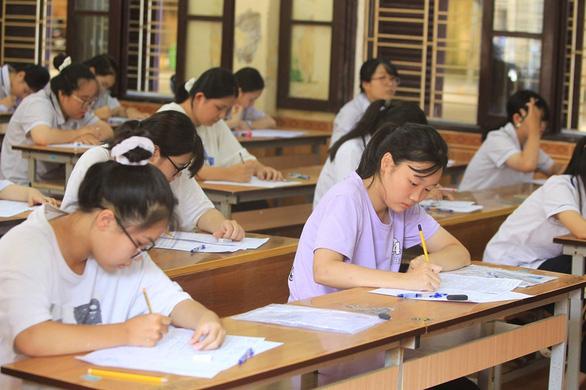 Hải Phòng bỏ môn thi tổ hợp tuyển sinh lớp 10 THPT vì COVID-19 - Ảnh 1.