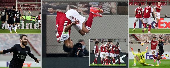 Arsenal nghẹt thở giành vé đi tiếp - Ảnh 1.
