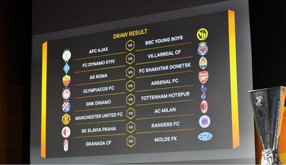 Bốc thăm vòng 16 đội Europa League: Ibrahimovic tái ngộ Man Utd - Ảnh 1.