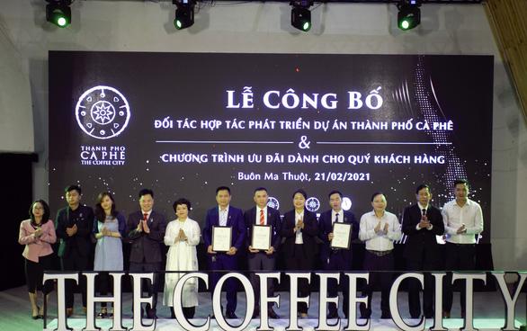 Trung Nguyên Legend công bố đối tác của dự án Thành phố Cà phê - Ảnh 1.