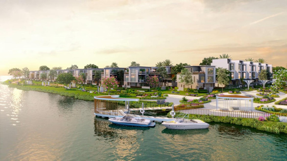 Độc đáo tour thưởng ngoạn không gian sống sinh thái tại Aqua City bằng đường sông - Ảnh 4.