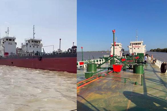 Vụ pha chế 2,7 triệu lít xăng giả: Bắt thuyền trưởng 2 tàu trọng tải khủng - Ảnh 2.