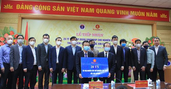 Mỗi liều vắcxin COVIVAC của Việt Nam không quá 60 ngàn đồng - Ảnh 1.