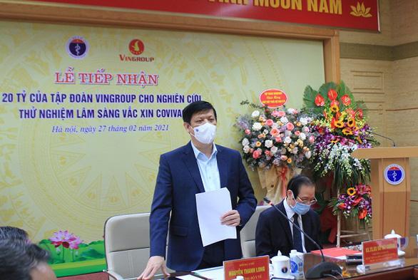 Mỗi liều vắcxin COVIVAC của Việt Nam không quá 60 ngàn đồng - Ảnh 2.