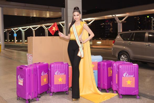 Á hậu Ngọc Thảo dự thi Miss Grand International 2020 tại Thái Lan - Ảnh 2.