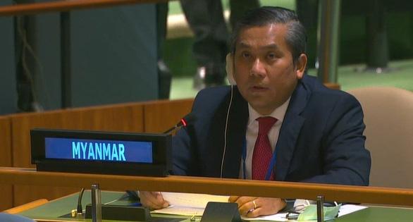 Đại sứ Myanmar tại Liên Hiệp Quốc đã bị sa thải vì... phản bội - Ảnh 1.