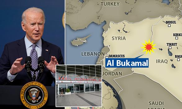 Tổng thống Biden: Không kích Syria là cảnh báo với Iran - Ảnh 1.
