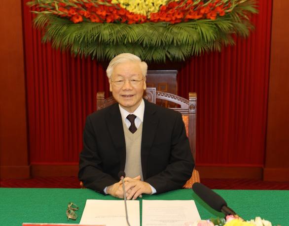 Gặp mặt các nguyên ủy viên Bộ Chính trị, Ban Bí thư và nguyên ủy viên trung ương không tái cử - Ảnh 1.