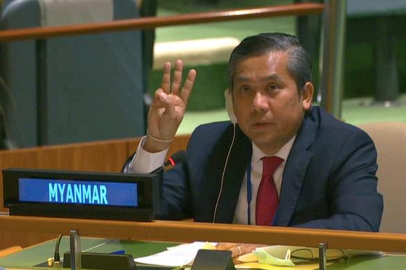 Chính quyền quân sự có quyền sa thải đại sứ Myanmar tại Liên Hiệp Quốc? - Ảnh 1.
