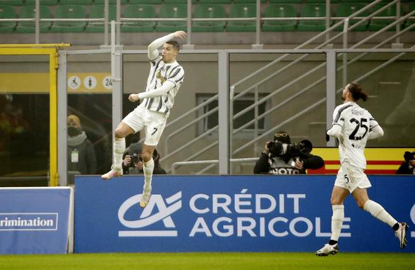 Ronaldo lập cú đúp, Juventus thắng ngược Inter ở Cúp quốc gia Ý - Ảnh 2.