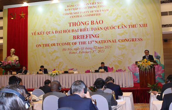Văn kiện Đại hội Đảng XIII được dịch ra 7 thứ tiếng - Ảnh 1.
