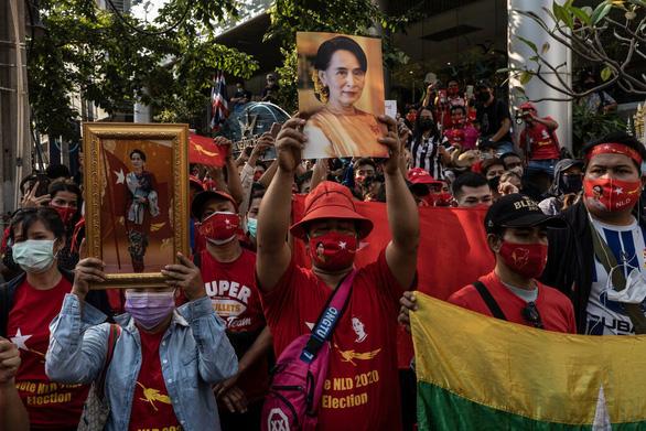 G7 ra tuyên bố chung lên án đảo chính tại Myanmar - Ảnh 1.