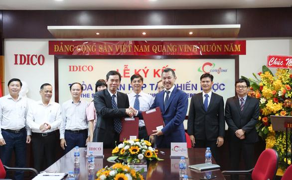 Coteccons và IDICO ký kết thỏa thuận hợp tác chiến lược - Ảnh 1.