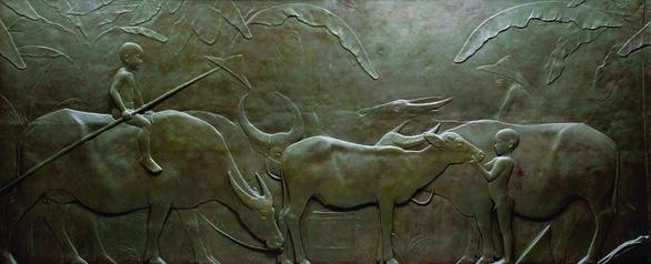 Con trâu trong nghệ thuật tạo hình phương Đông - Ảnh 8.