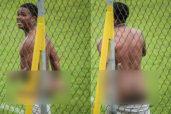 Cầu thủ lãnh án phạt nặng vì… cởi quần ăn mừng bàn thắng - Ảnh 1.