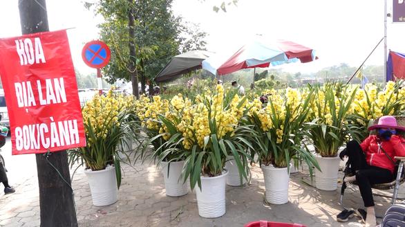 24 tết, người bán hoa tại Hà Nội xả hàng, giảm giá, chỉ mong huề vốn - Ảnh 4.
