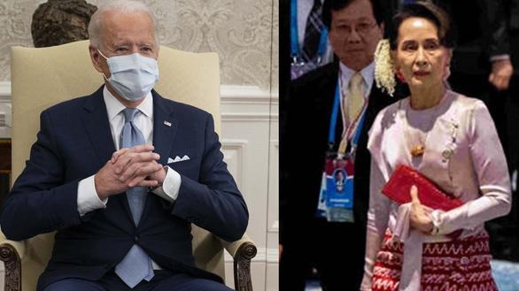 Ông Biden yêu cầu quân đội Myanmar từ bỏ quyền lực - Ảnh 1.