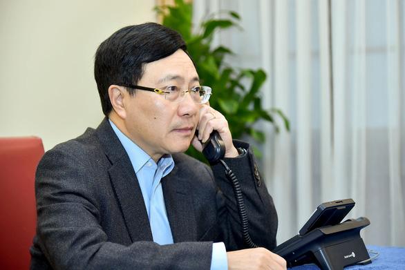 Tân Ngoại trưởng Mỹ Antony Blinken điện đàm với Phó thủ tướng Phạm Bình Minh - Ảnh 1.