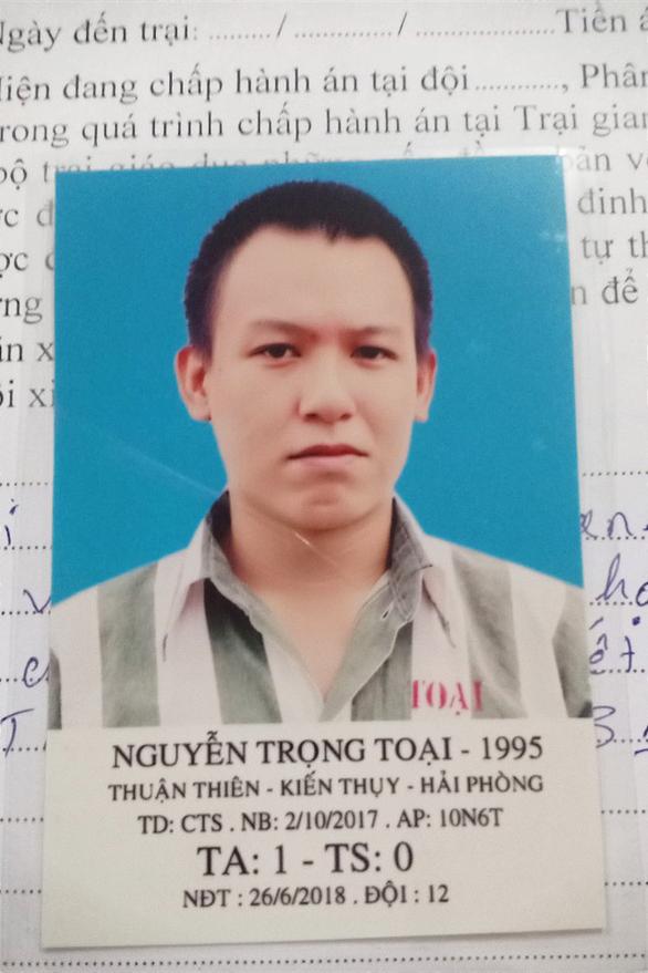 Vượt ngục từ Hải Phòng, bị bắt ở Bình Thuận - Ảnh 3.