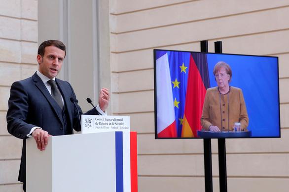 Tổng thống Macron: 'Không xem Trung Quốc ngang hàng Mỹ được' - Ảnh 1.